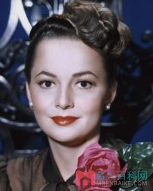 奥莉薇·黛·哈佛兰(Olivia de Havilland)个人资料写真作品大全
